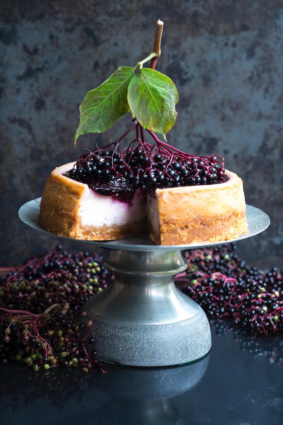 Fladerbarscheesecake