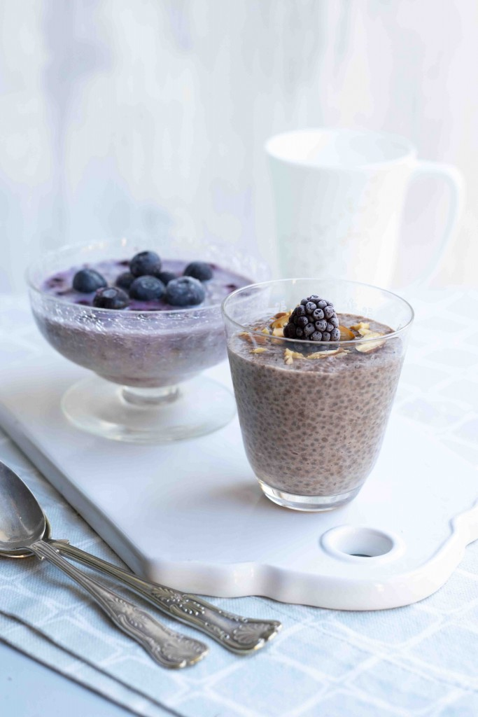 Chiapudding + oavernight oats